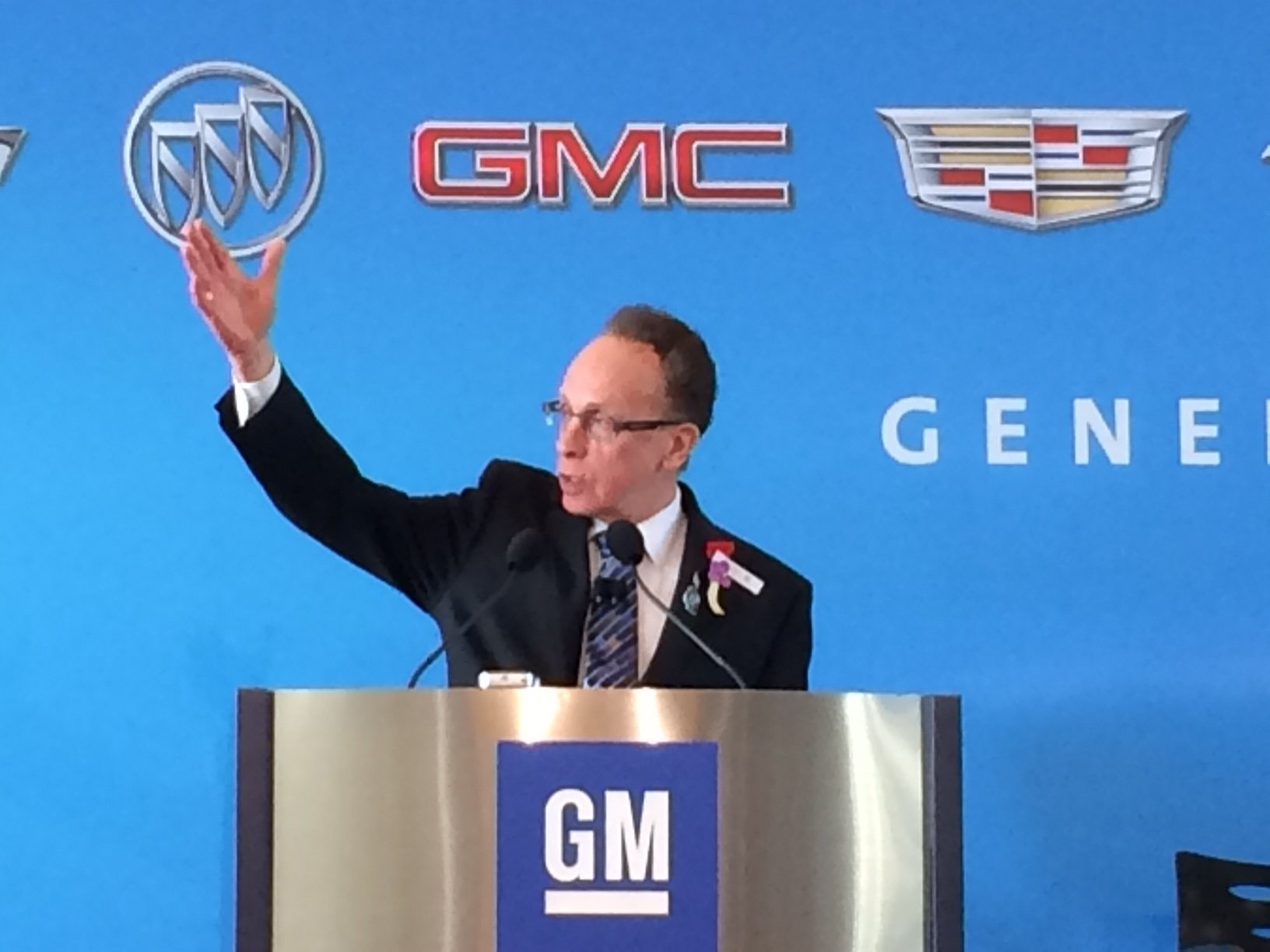 Warren Mayor Jim Fouts GM